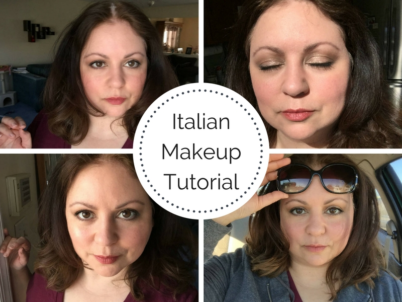 Italian Makeup Tutorial – La Dolce Vita Look