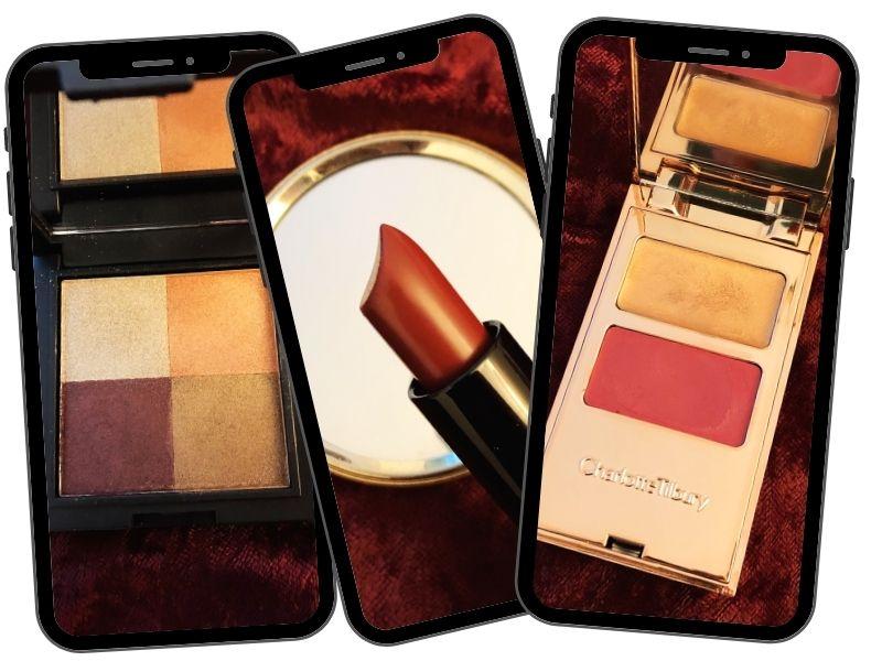 autumn makeup colors