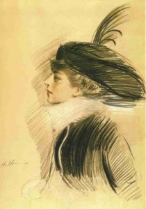 Belle da Costa Greene by Paul Cesar Helleu c. 1913