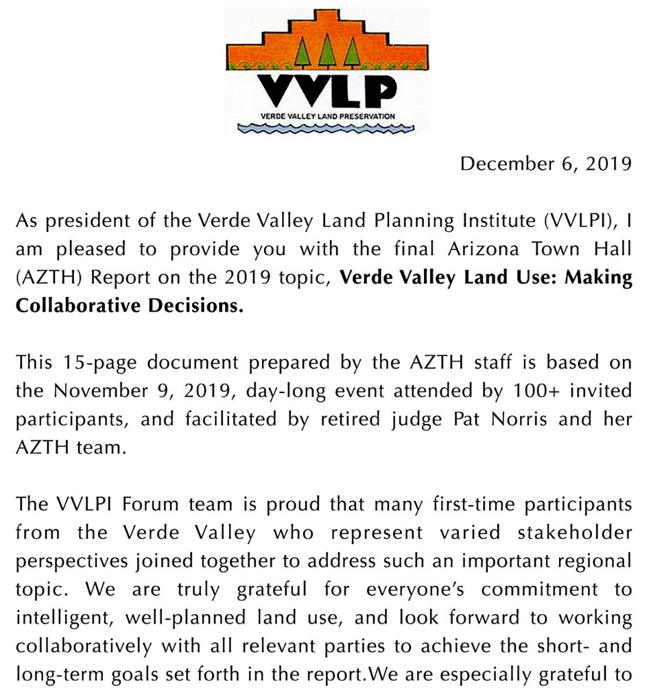 Endorsements From Across District 3, Yavapai County, and the State