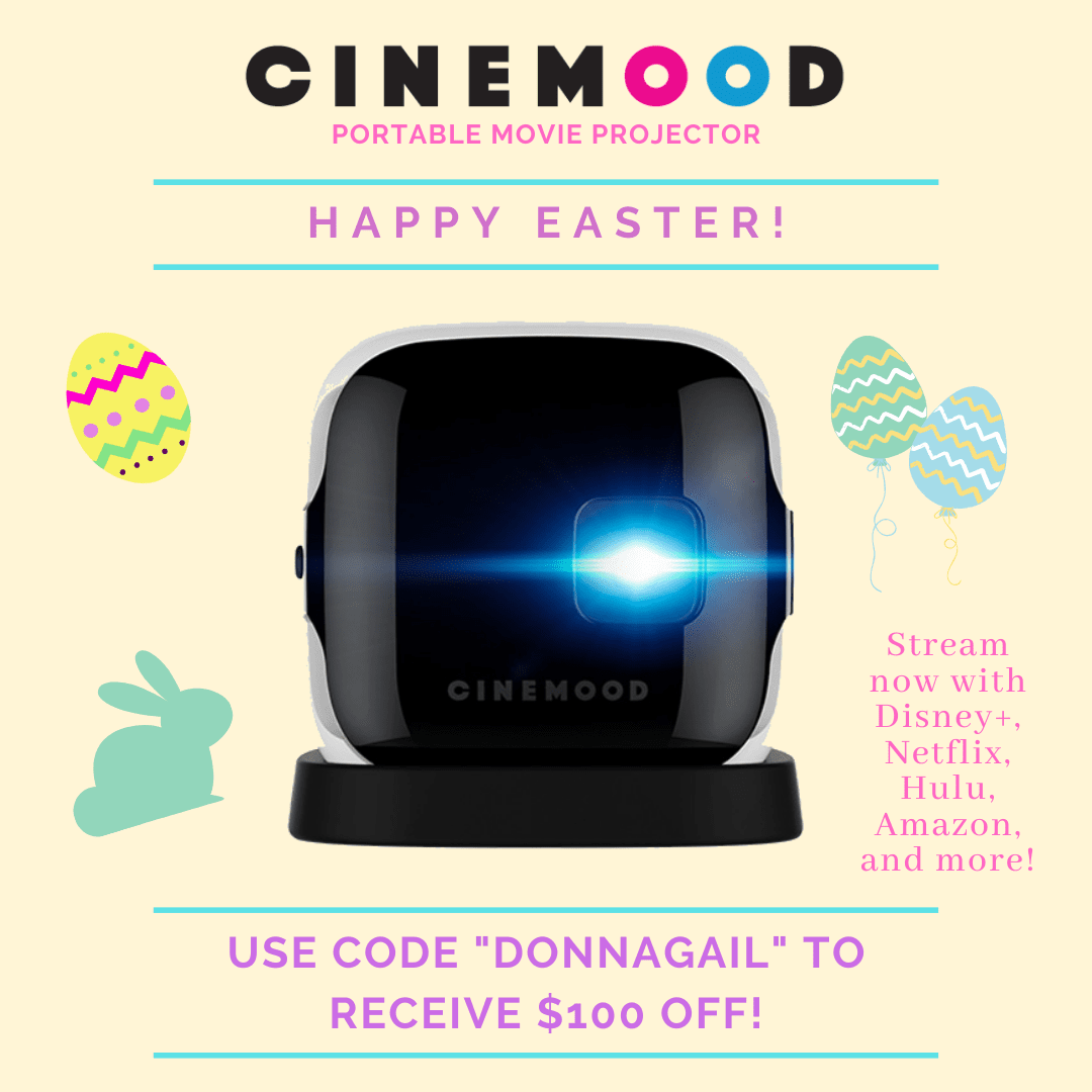 Save $100 off of Cinemood with the code DONNAGAIL