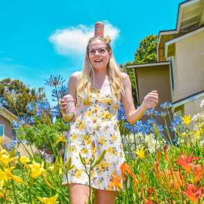 This spring time Humm Kombucha post amongst the flowers was to promote their new seasonal beverages. This campaign was made possible by me learning how to respond to a company that initially only offered me a non-paid campaign and instead turned it in to a paid one!