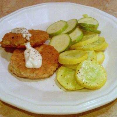 Tuna Patties with Sauce Recipe