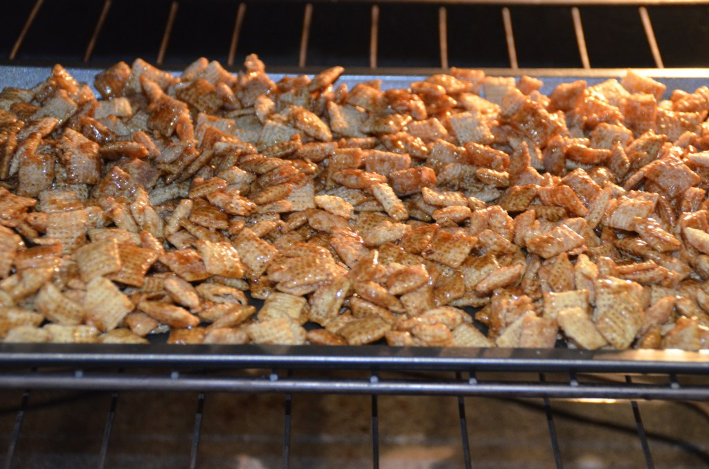 Buttered Rum Apple Cider Chex Mix
