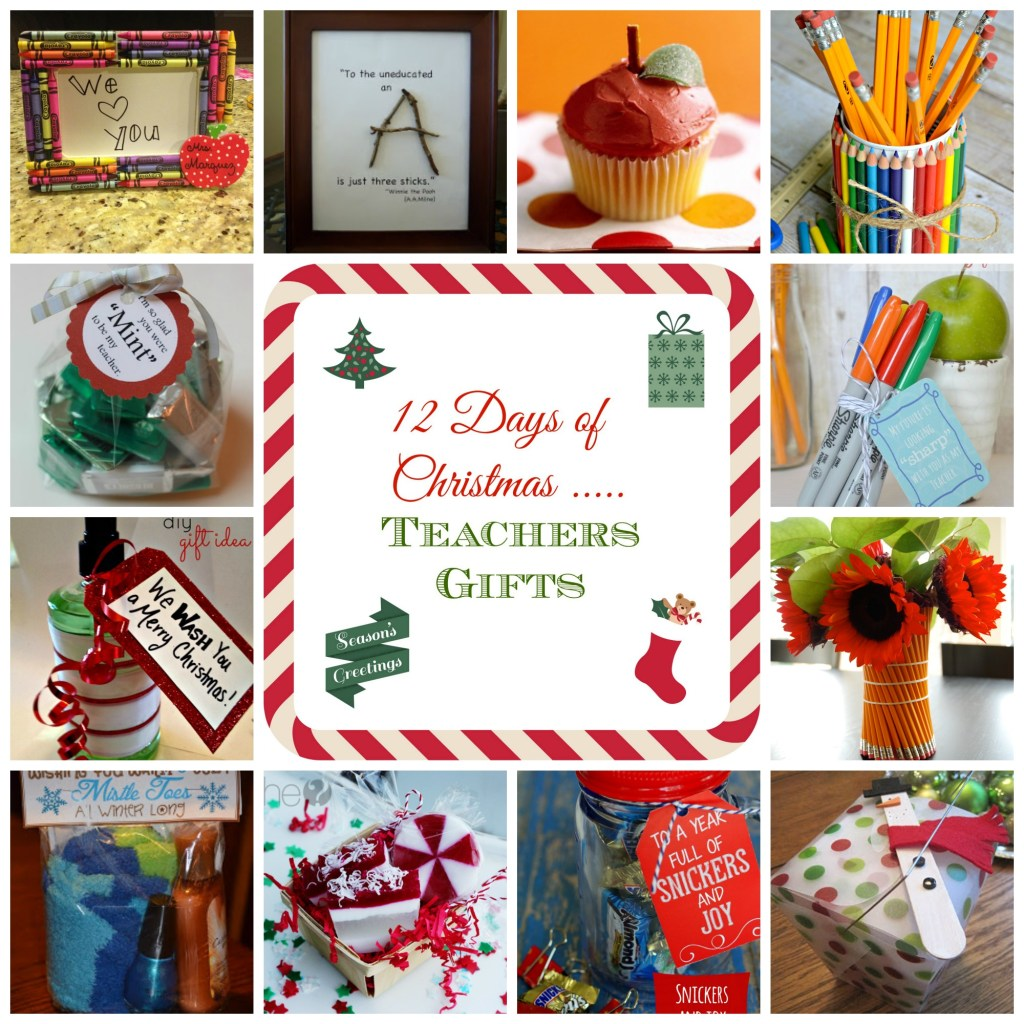 12 Days of Christmas - Teacher Gift Ideas