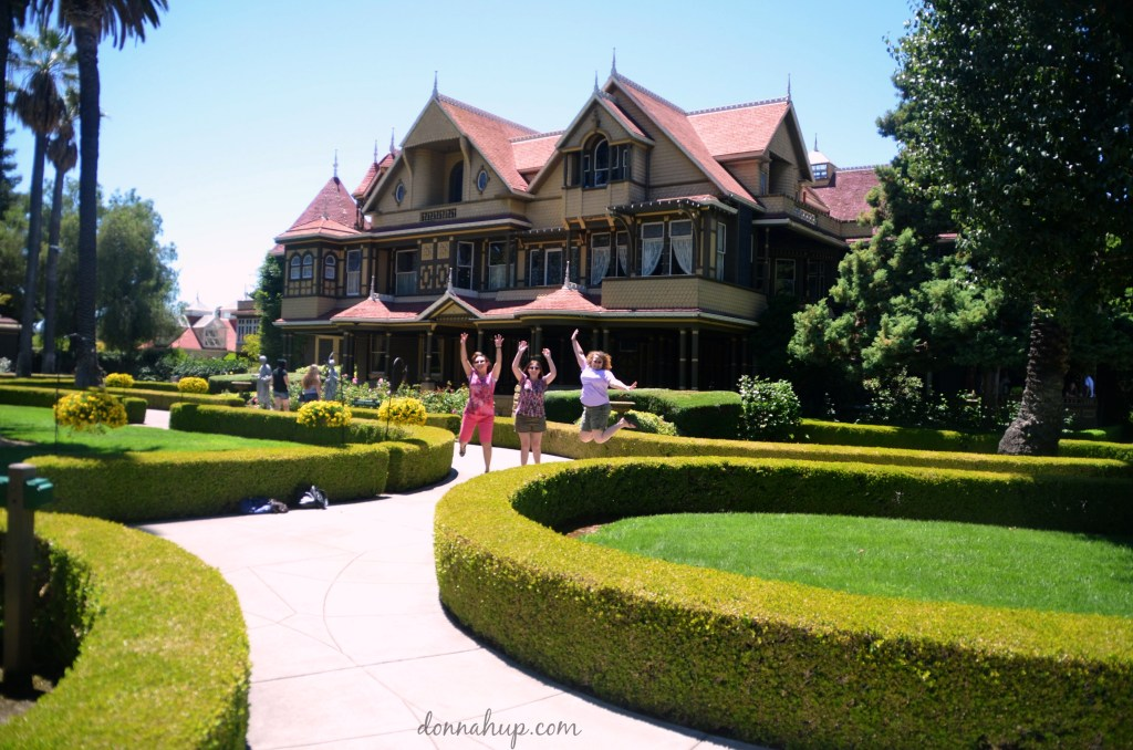 Visiting the Winchester Mystery House in San Jose, CA