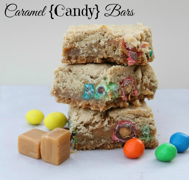 Caramel-Candy-Bars-2.0 12 Days of Christmas – Caramel {Candy} Bars #recipe #christmasdesserts