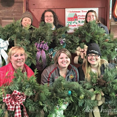 Wreath Making at Carlson Tree Farm