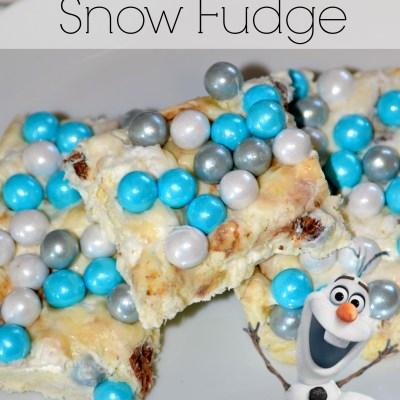 Olaf's Frozen Snow Fudge