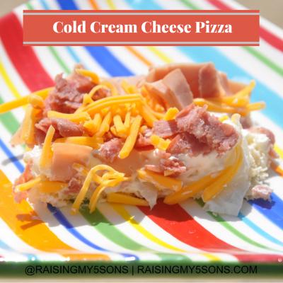 Cold Cream Cheese Pizza