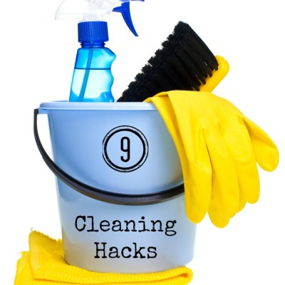 9 Cleaning Hacks