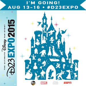 I'm headed to the Ultimate Disney Fan Event #D23Expo