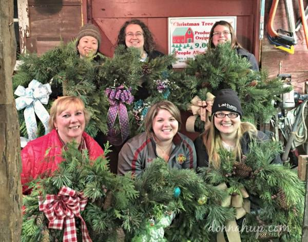 When Making a Wreath is More than Making a Wreath