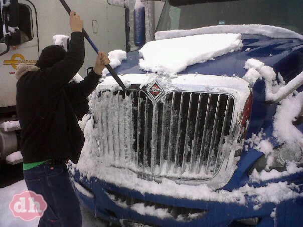 Trucking in the Winter #TruckerTuesday