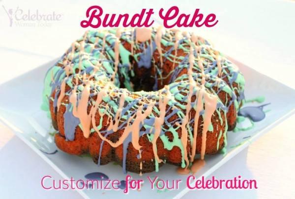 Bundt Cake Decorating Ideas