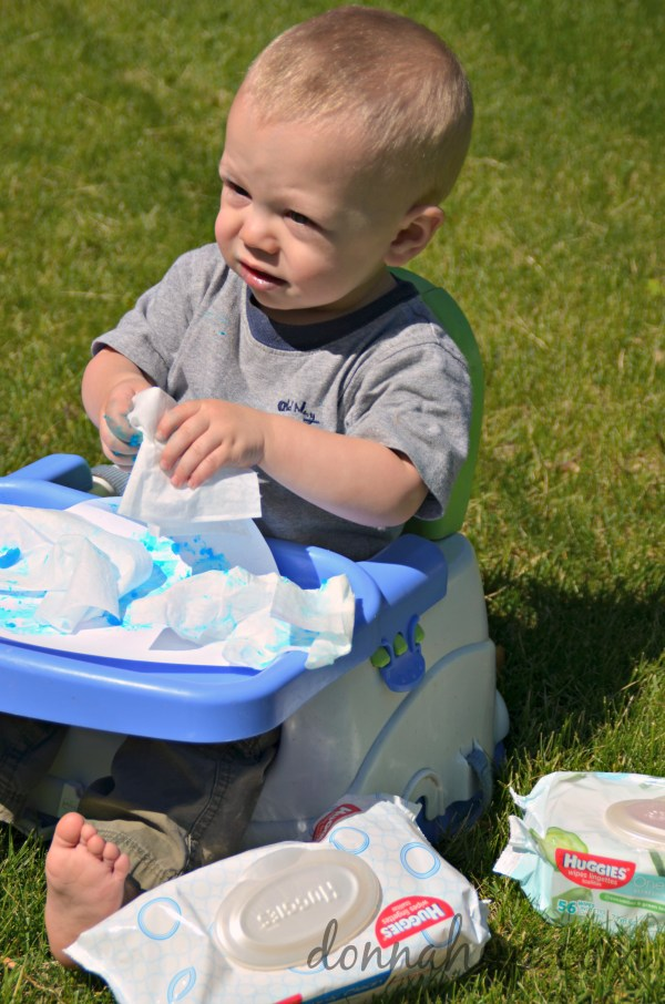 Homemade Finger Paint Recipe #HugtheMess #cbias