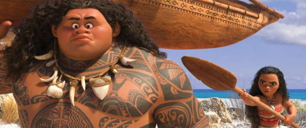 Moana Review + Interview w/ Marlon West