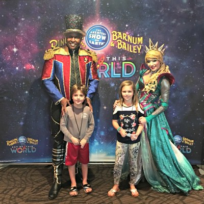 Ringling Bros. Barnum & Bailey is Out of this World
