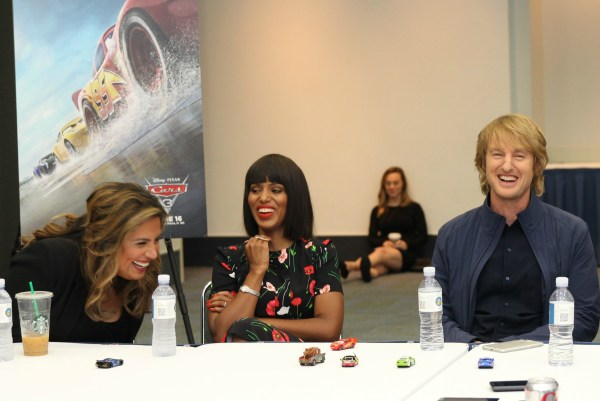Lots of Laughs with the Cast of Cars 3