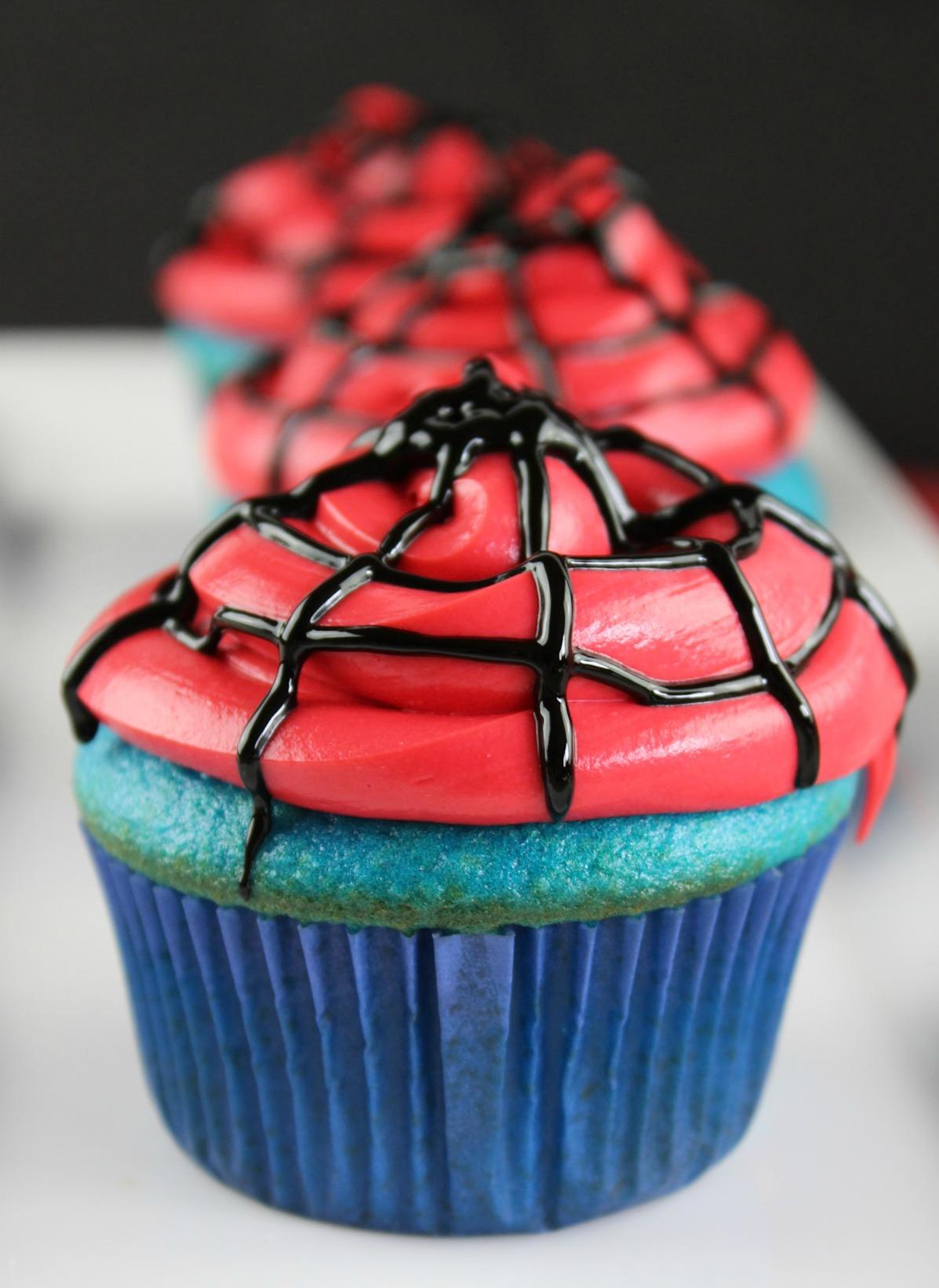 Spider Man Cupcakes Donnahup Com
