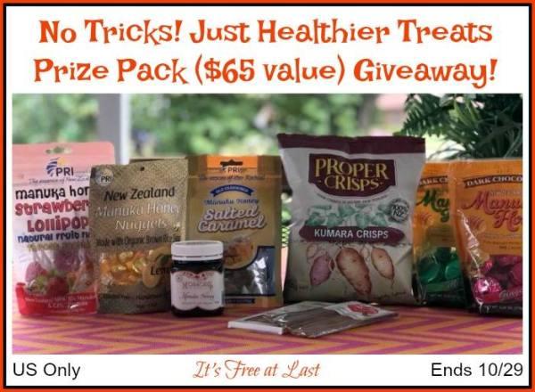 Manuka Honey Prize Pack Giveaway