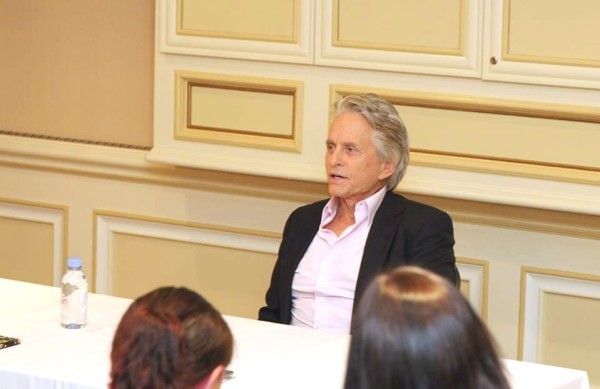 Michael Douglas talks Ant-Man and The Wasp