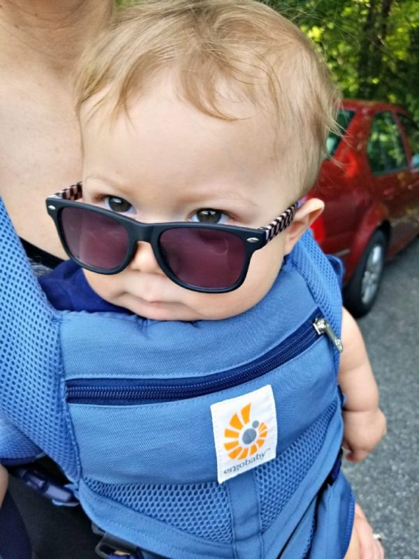Hiking with the ergobaby Cool Air Mesh Carrier