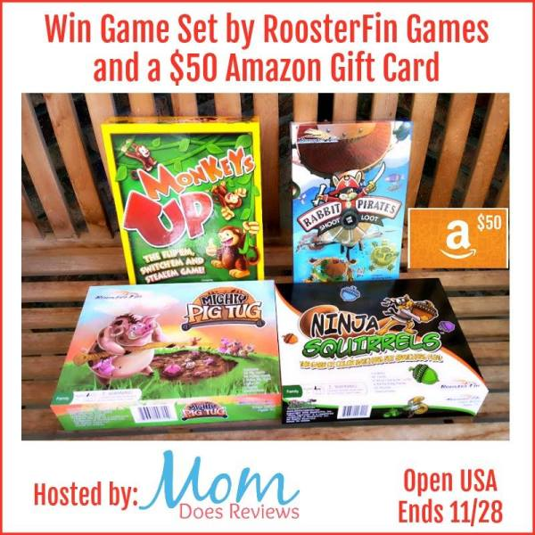 Win a $50 Amazon Gift Card + Game Set