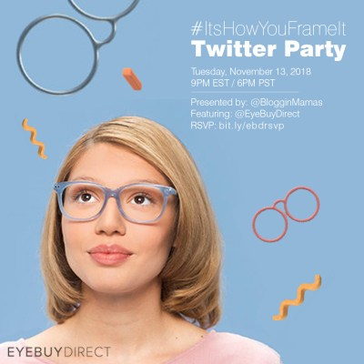 You're invited to the #ItsHowYouFrameIt Twitter Party Tues 11/13 at 9pm EST