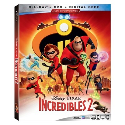 Incredibles 2 on Blu Ray Now!