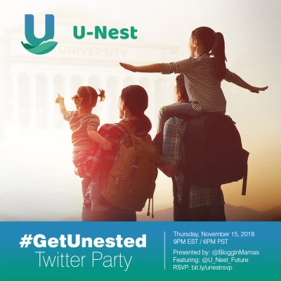 You're invited to the #GetUnested Twitter Party Thurs 11/15 at 9pm EST