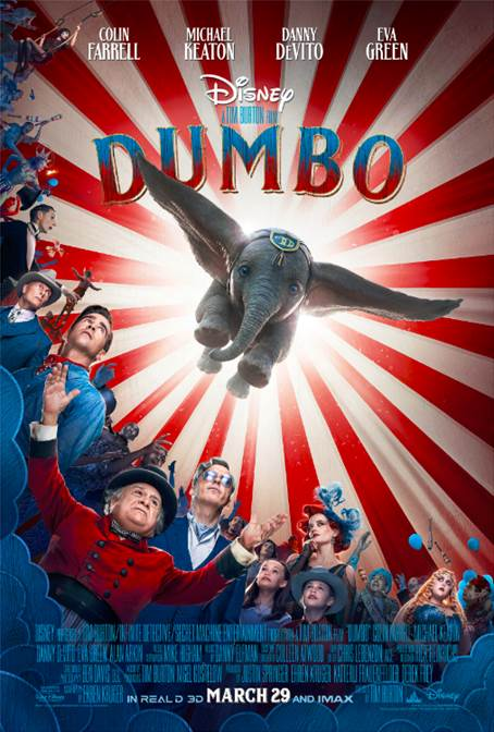 Live-Action DUMBO - New Trailer & Poster