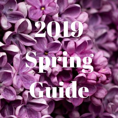2019 Spring Product Guide