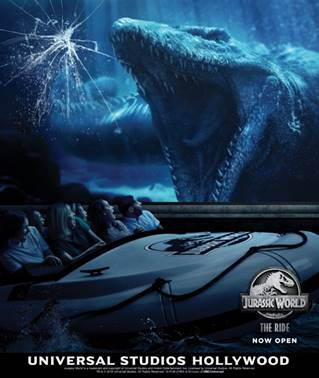 Jurassic World The Ride Opens at Universal Studios Hollywood and It Just Got Real