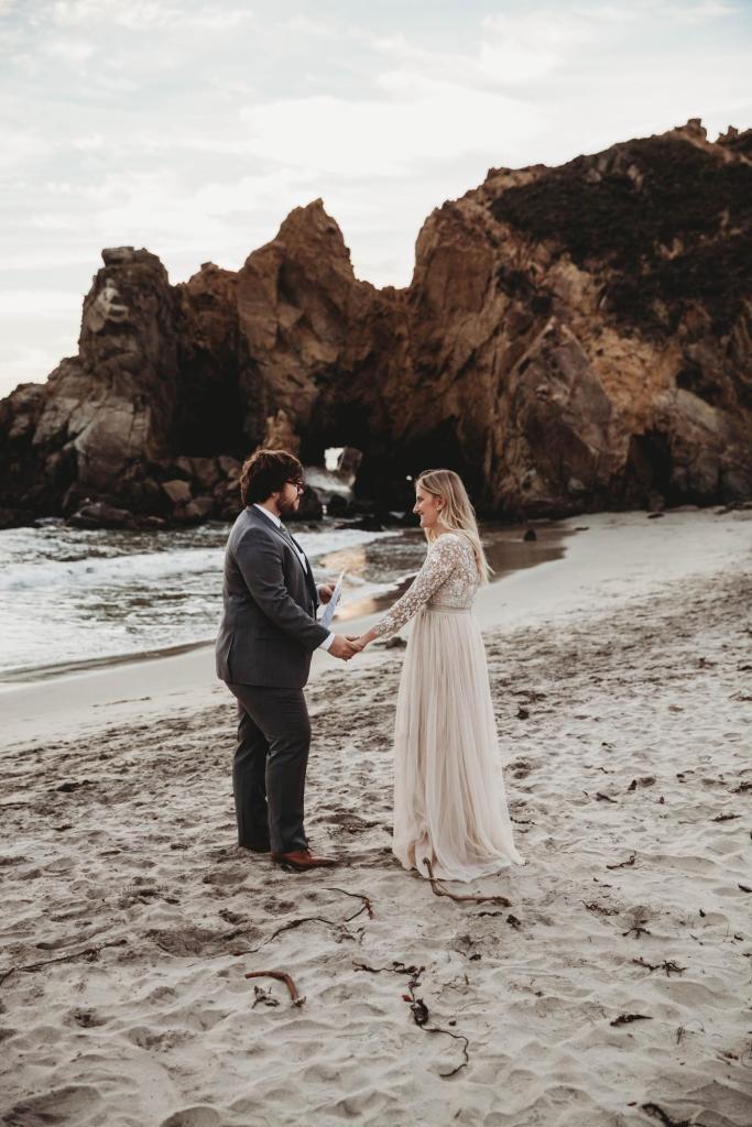 big sur elopement photographer