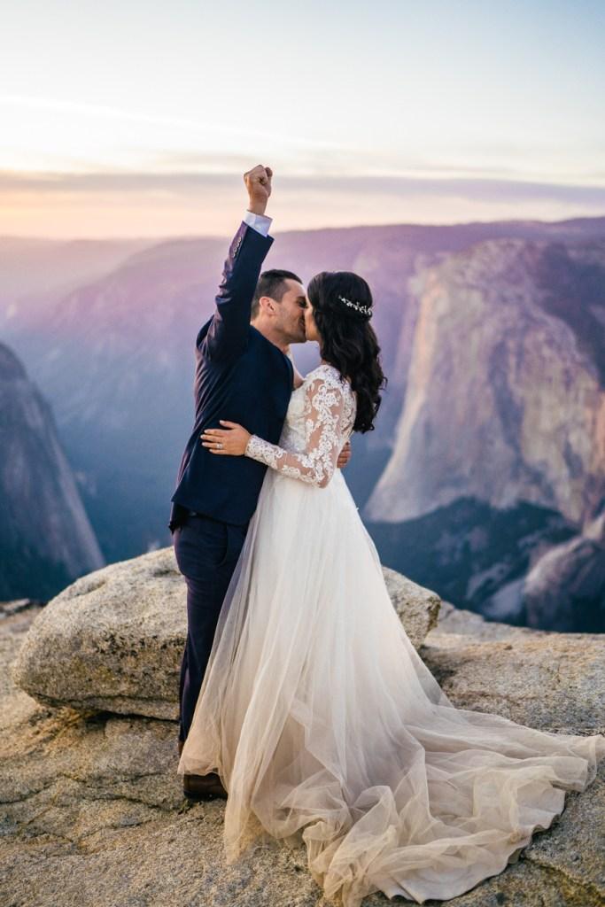 taft point elopement photos