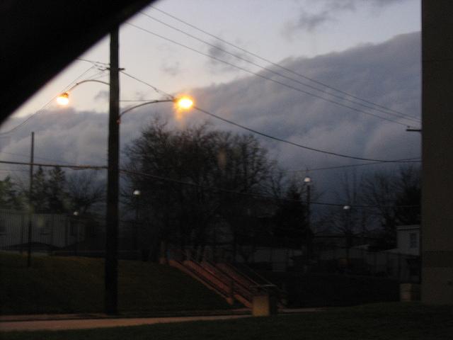 massive cloud bank