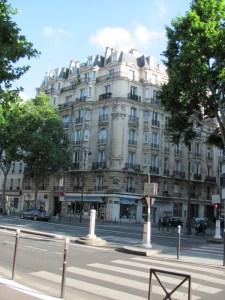 Paris street corner - Rue Montparnasse, 6th arrondissement