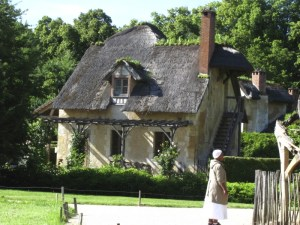 A cottage at Queen's Hamlet at Versailles in France. Photo by Donna L. Long, 2014. All rights reserved.