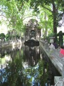 stone reflecting pool