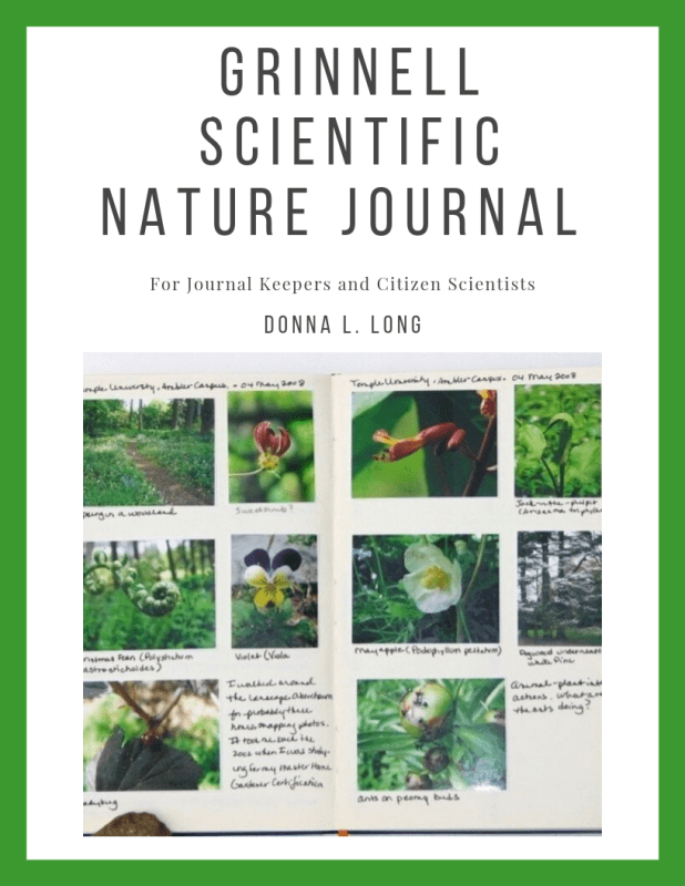 The Grinnell Scientific Nature Journal: For  Scientists, Citizen Scientists, and Nature Journal Keepers