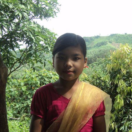 people_Indigenous girl, Bangladesh.