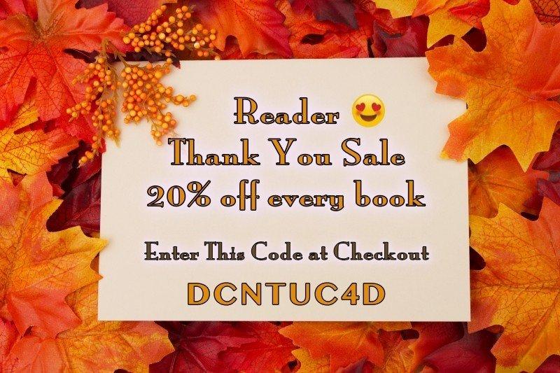 November Web Store Sale