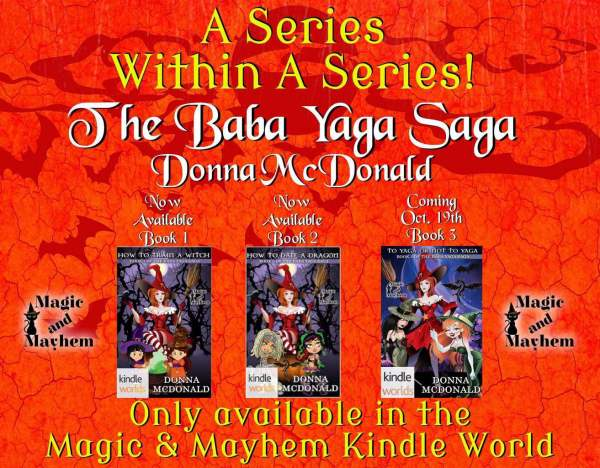 The Baba Yaga Saga All 3 Books
