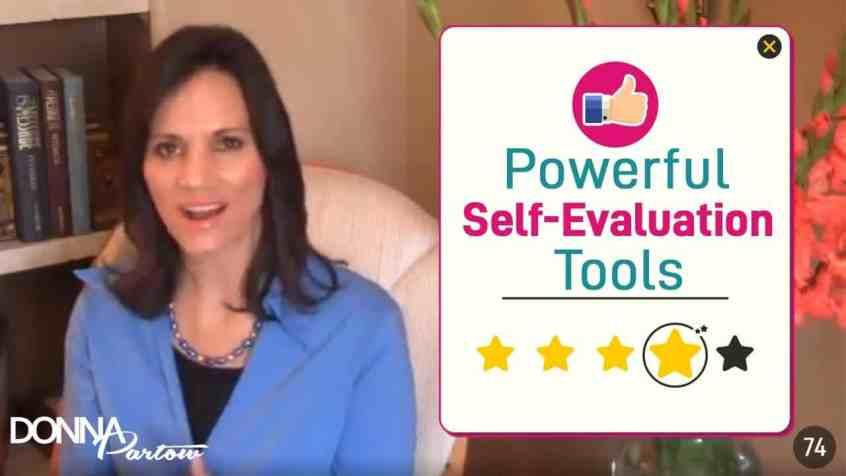 Self Evaluation Tool - Donna Partow