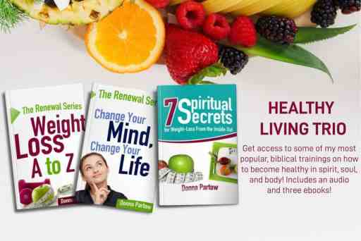 Healthy Living Trio by Donna Partow