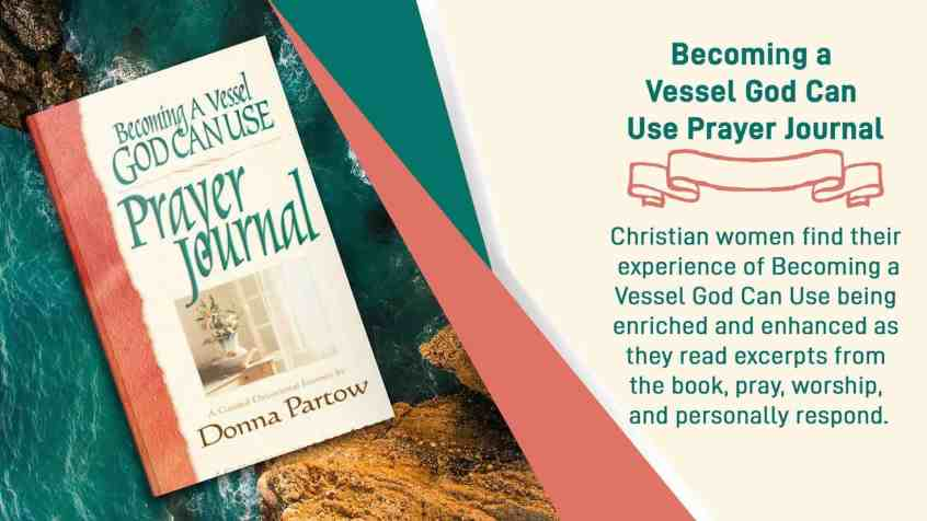 Becoming a Vessel God Can Use Prayer Journal