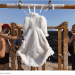 The Dead Sea Turned A Little Black Dress Into A Masterpiece?