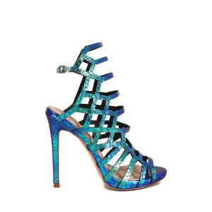 donnards.com liliana asuka-9 irisdescent strappy sandals