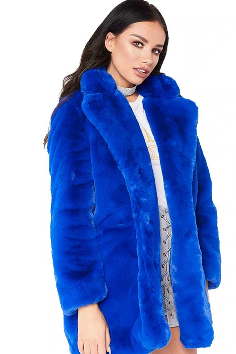 That Life Winter Long Sleeve Faux Fur Jacket 08